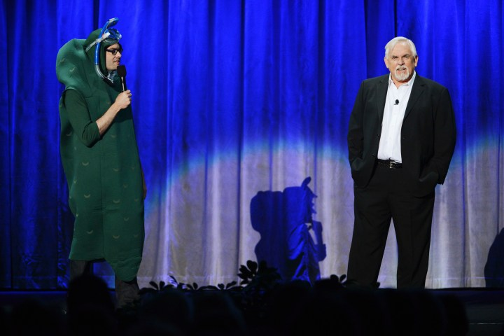 2013 D23 Expo Walt Disney Animation Studios Presentation Bill Hader John Ratzenberger