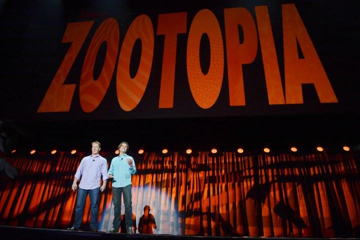 2013 D23 Expo Walt Disney Animation Studios Presentation Clark Spencer Bryon Howard Zootopia