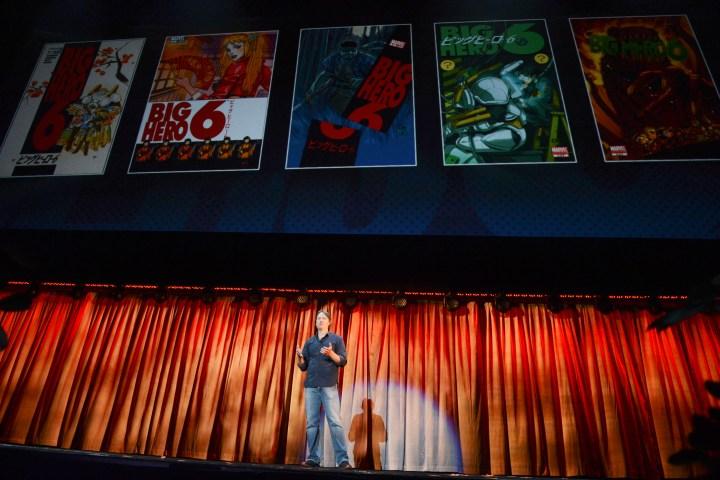 2013 D23 Expo Walt Disney Animation Studios Presentation Don Hall Marvel Big Hero 6