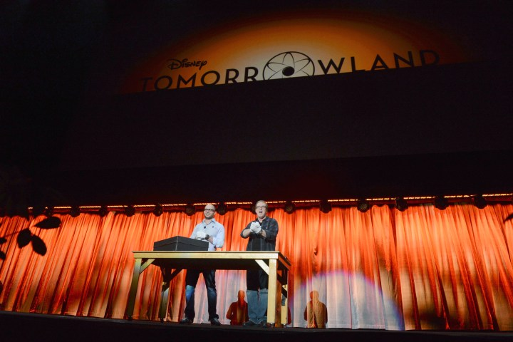 2013 D23 Expo Walt Disney Studios Live Action Films Presentation Brad Bird Damon Lindelof Tomorrowland 1952