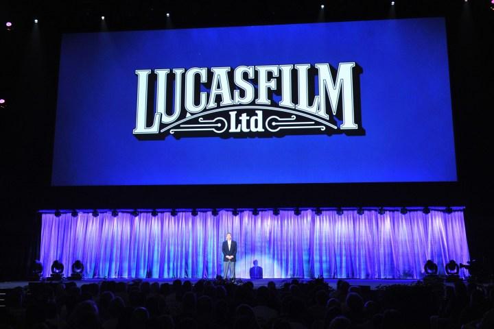2013 D23 Expo Walt Disney Studios Live Action Films Presentation Lucasfilm Welcome
