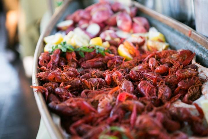 Crawfish Bake Catering Offering Ralph Brennans Jazz Kitchen Downtown Disney California Disneyland Resort