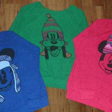 Disney Parks Christmas Holiday Winter Sweaters Mickey Minnie Mouse Goofy