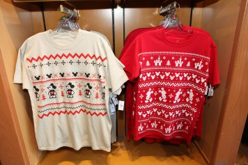Disney Parks Christmas Winter Sweater Tshirts 1