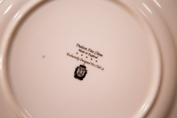 Disneyland Club 33 Disneyexaminer Visit Custom China Dishes