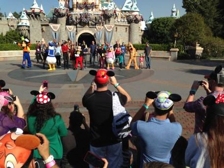 Disneyland Disney Side Social Media All Stars World Premiere Event
