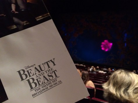Disney Beauty And The Beast Musical Tour Segerstrom Center Opening Night Program
