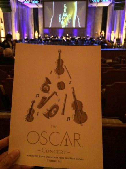 2014 Oscar Week Academy Awards Disneyexaminer Concert Program