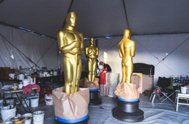 2014 Oscar Week Academy Awards Disneyexaminer Painting Statue