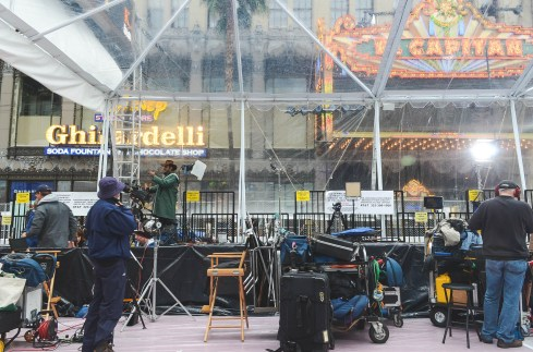 2014 Oscar Week Academy Awards Disneyexaminer Red Carpet Setup