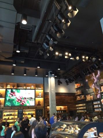 Starbucks Downtown Disney Disneyland Resort Interior
