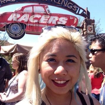 Disneyexaminer Ideal Disneyland Day Zeila Selfie Radiator Springs Racers