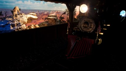 Disneyland Railroad Grand Canyon Diorama Claude Coats