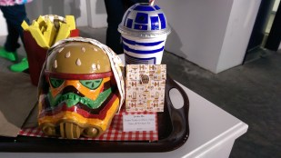 Disney Consumer Products Lucasfilm Neff Star Wars Legion Art Exhibit Burger And Fries