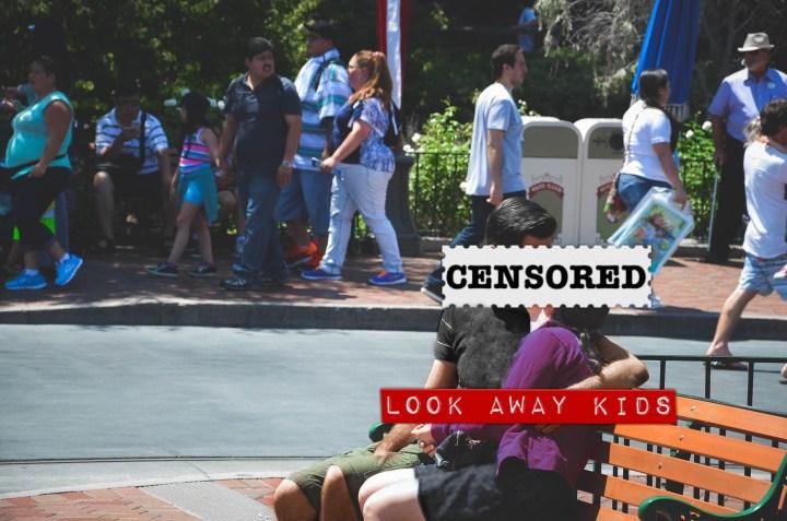 Disney Couples Annoying Things Disneyexaminer Pda Kissing Disneyland