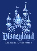 Disneyland 60 Diamond Celebration Logo