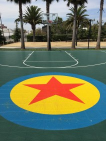 Disney Pixar Animation Studios Headquarters Disneyexaminer Tour Emeryville Basketball Court Luxo Ball