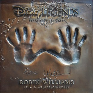 Robin Williams Legends Plaza Walt Disney Studios Lot