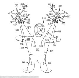 Disney Parks Drones Patents Concept Art Aerial Puppets