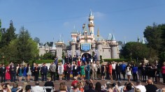 2015 Disneyland Ambassador Announcement Ceremony Sleeping Beauty Castle