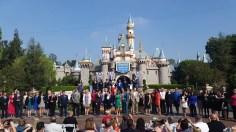 2015 Disneyland Ambassador Announcement Ceremony Sleeping Beauty Castle