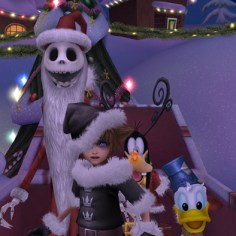 Disney Square Enix Kingdom Hearts Hd 2 5 Remix Sora Jack Skellington