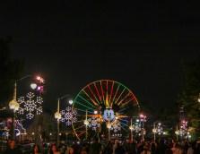 Holiday Snowflake Lights Disney California Adventure