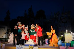 Its A Small World Holiday Lighting Ceremony 2014