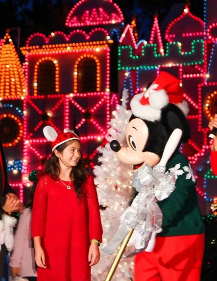Its A Small World Holiday Lighting Ceremony Gallardo