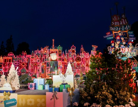 Its A Small World Holiday Lighting Ceremony