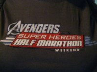 Rundisney Avengers Half Marathon Volunteer Logo