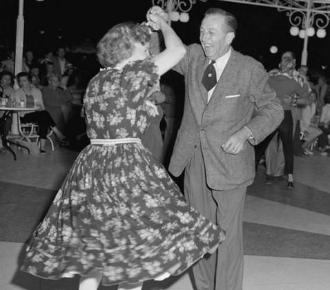 Walt Disney Swing Dancing Disneyland