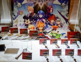Disney Kingdom Hearts H D 2 5 Remix Launch Event Walt Disney Studios Keyblades