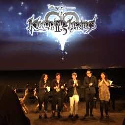 Disney Kingdom Hearts H D 2 5 Remix Launch Event Walt Disney Studios Special Guest Panel