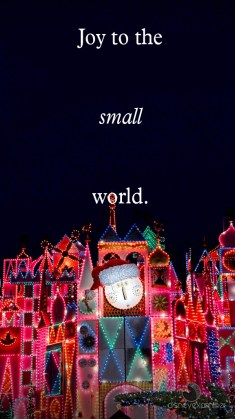 Disneyland Its A Small World Holiday Disneyexaminer Mobile Device Wallpaper