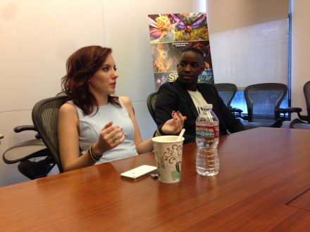 Disney Lucasfilm Strange Magic Press Day Elijah Kelley Meredith Anne Bull