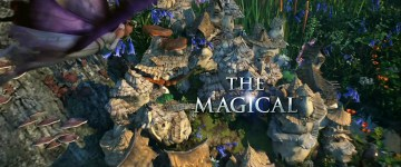 Disney Lucasfilm Strange Magic Promotional Banner