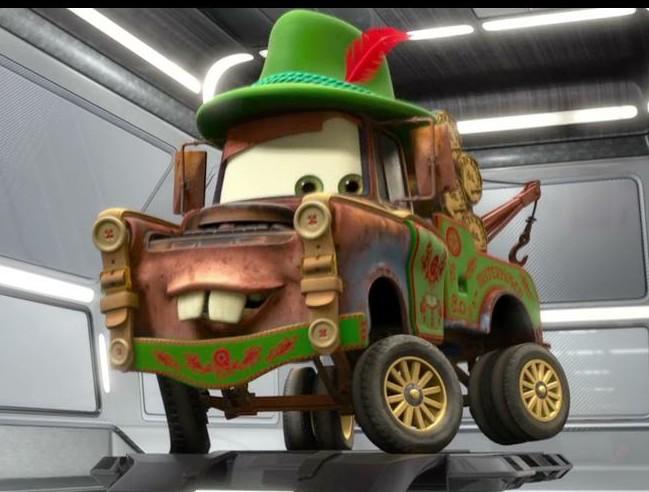 Disney Pixar Cars 2 Mater Disguises