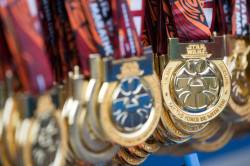 Rundisney Star Wars Half Marathon Weekend Disneyland Medals