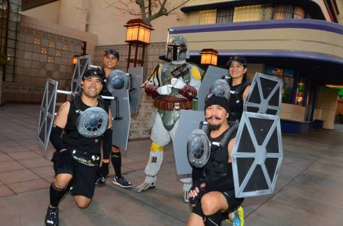 Rundisney Star Wars Half Marathon Weekend Disneyland Tie Fighter Costume