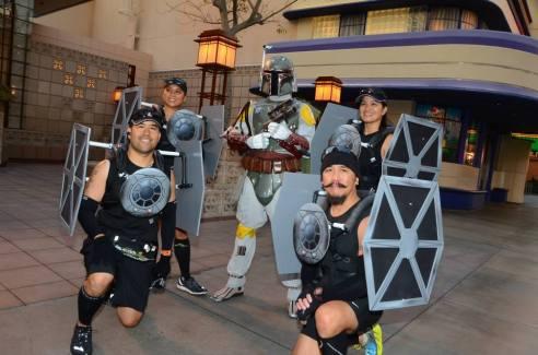 Rundisney Star Wars Half Marathon Weekend Disneyland Tie Fighter Costume