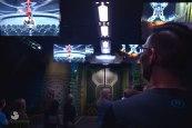 3 D Motion Ride Boarding Area Marvel Experience Disneyexaminer Tour