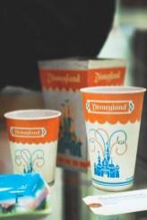 Van Eaton Galleries Disneyland Vintage Auction Popcorn Box And Cups