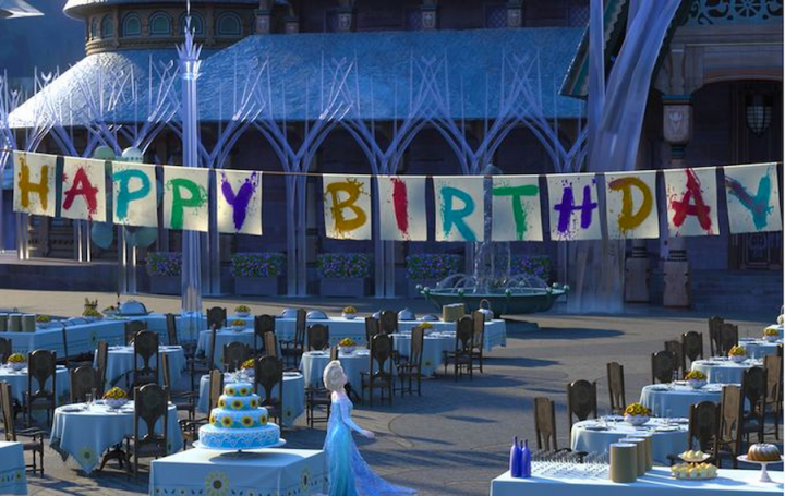 Disney Frozen Fever Animated Short Happy Birthday