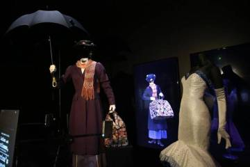 Mary Poppins Hollywood Costume Exhibition Oscars LACMA
