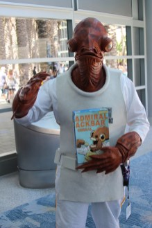 Star Wars Celebration Anaheim Disneyexaminer Cosplay Admiral Ackbar