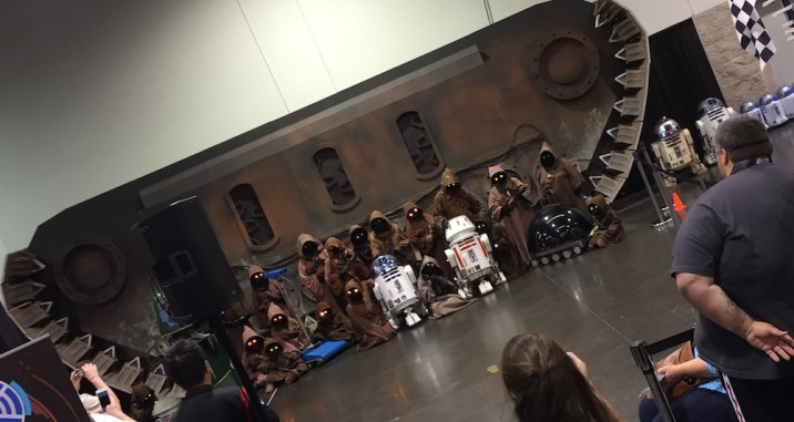Star Wars Celebration Anaheim Disneyexaminer Cosplay Jawa Group Shot