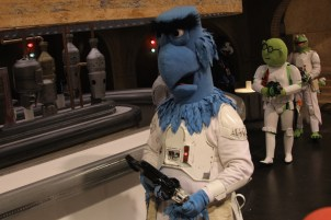 Star Wars Celebration Anaheim Disneyexaminer Cosplay Muppets Sam Eagle Stormtrooper