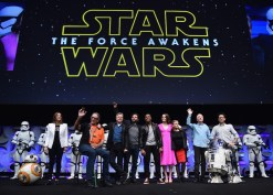 Star Wars Celebration Anaheim Disneyexaminer Force Awakens Panel Legacy New Cast Group Shot