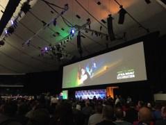 Star Wars Celebration Anaheim Disneyexaminer Force Awakens Panel Main Stage